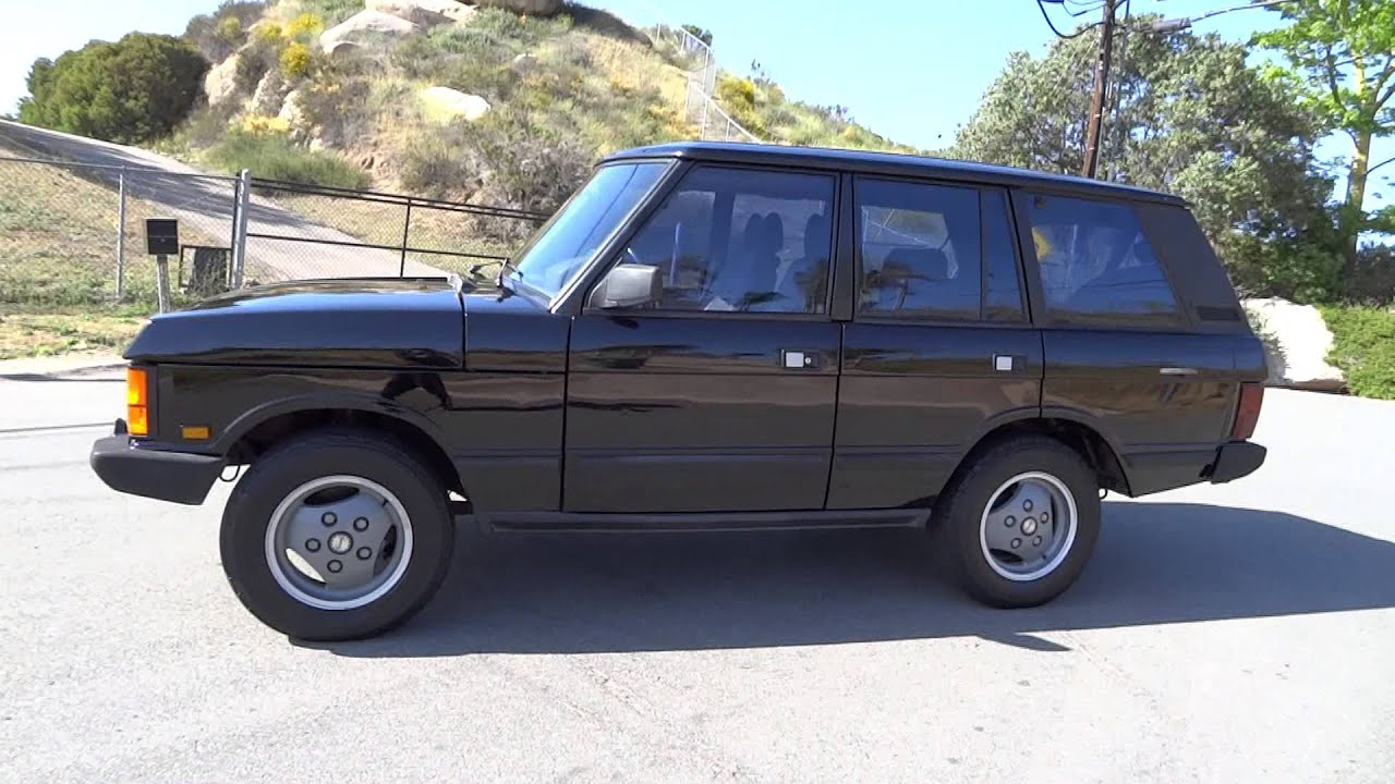 1990 Land Rover Range Rover County First Generation 3 9L V8 SUV