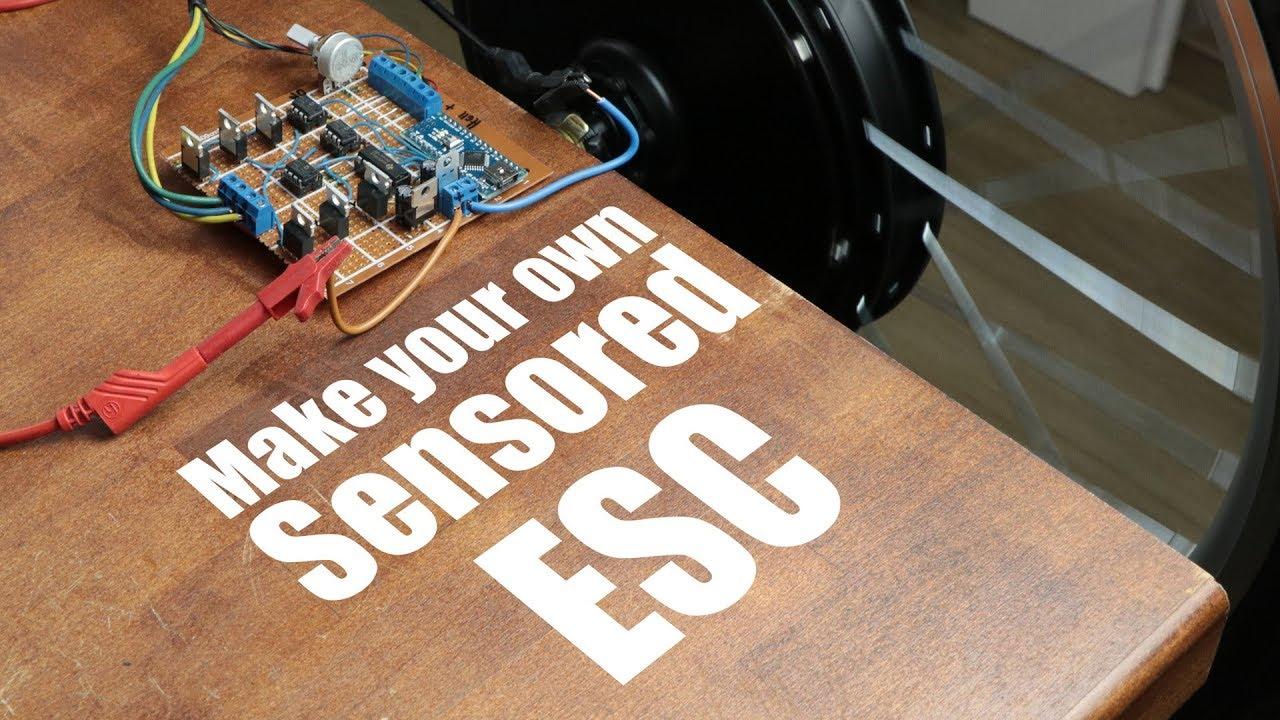 Make Your Own Sensored ESC: 5 Steps
