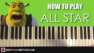 Baixar HOW TO PLAY - Smash Mouth - All Star (Piano Tutorial Lesson)