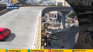Minister KTR React on biodiversity car accident in hyderabad
