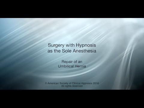 Surgery with Hypnosis as the Sole Anesthesia