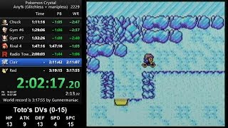 "Pokemon Crystal ""Classic"" speedrun in 3:17:13 [current world record]"