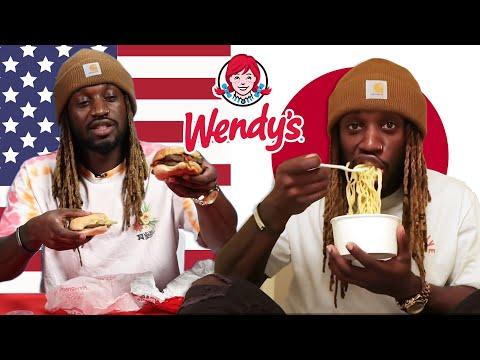 American Vs. Japanese Wendy's