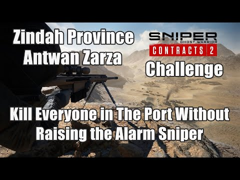 Kill Everyone in The Port Without Raising the Alarm Sniper Ghost Warrior Contracts 2 Chalenge |