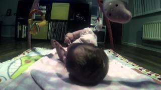 Baby rolls over Thumbnail