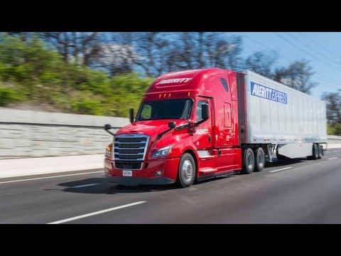 New 2018 Averitt Freightliner Cascadia Walk Thru