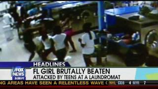 Girl Brutally Beaten At Florida Laundromat