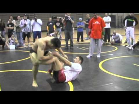 Peruvian Necktie Submission - Dave Terrell vs. Cameron Earle at 2002 Grapplers Quest Las Vegas