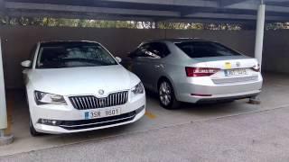 Škoda Superb - benzín nebo nafta? 1,4 TSI vs. 2,0 TDI