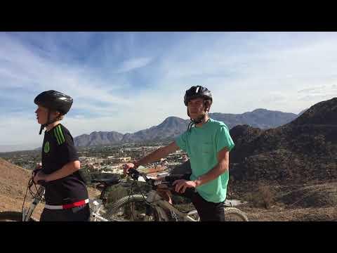 Mountain biking in Palm Springs