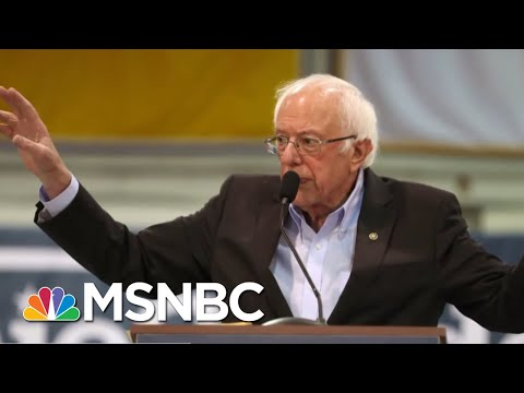 Bernie Sanders Seeks To Ease Nevada Union Tension | Velshi & Ruhle | MSNBC
