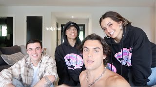 Download TURNING THE DOLAN TWINS INTO TIKTOKERS FT. Addison Rae Mp3 and Videos