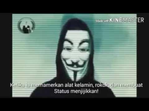 Tengok Pesan Hacker Dunia untuk Warga Indonesia
