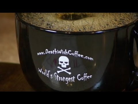 Death Wish Coffee Dubbed Worlds Strongest Has Twice The Caffeine YouTube
