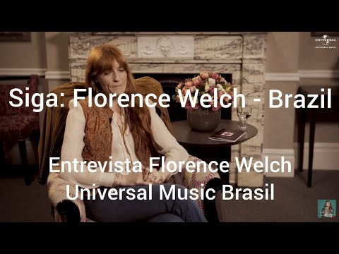 Florence Welch - High As Hope -  para a Universal  Brasil -  Legendado