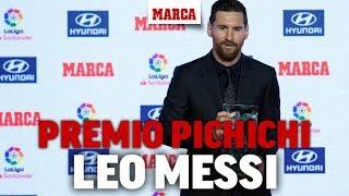 Premios MARCA: Messi, Trofeo Pichichi de la Liga 17/18