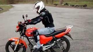 Школа FPS Racing (Киев). Обучение езды на мотоцикле. Тренер дядя Гоша.