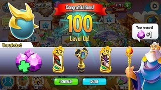 Unlock Heroic Pieces & Memorial Legends of Deus Level 100 | Dragon City