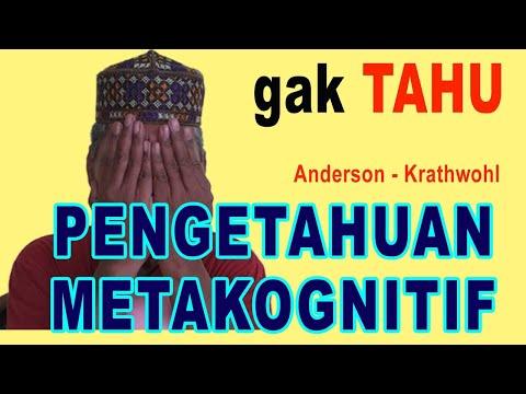 Pengetahuan Metakognitif Beda Dengan Pengetahuan Faktual Konseptual Prosedural & Lihat Contoh