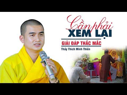 Giải Đáp Thắc Mắc - Thầy Thích Minh Thiền (hay quá 2021)