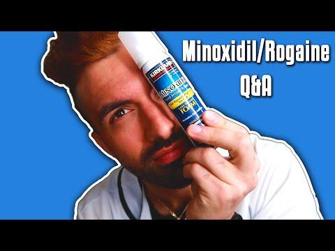 minoxidil/rogaine---q&a