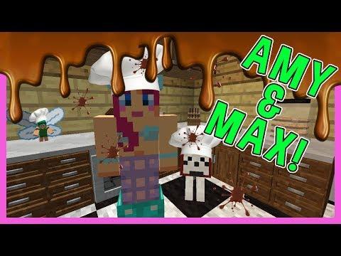 MAKING CHOCOLATE! | Amy & Max! Ep.52 | Minecraft