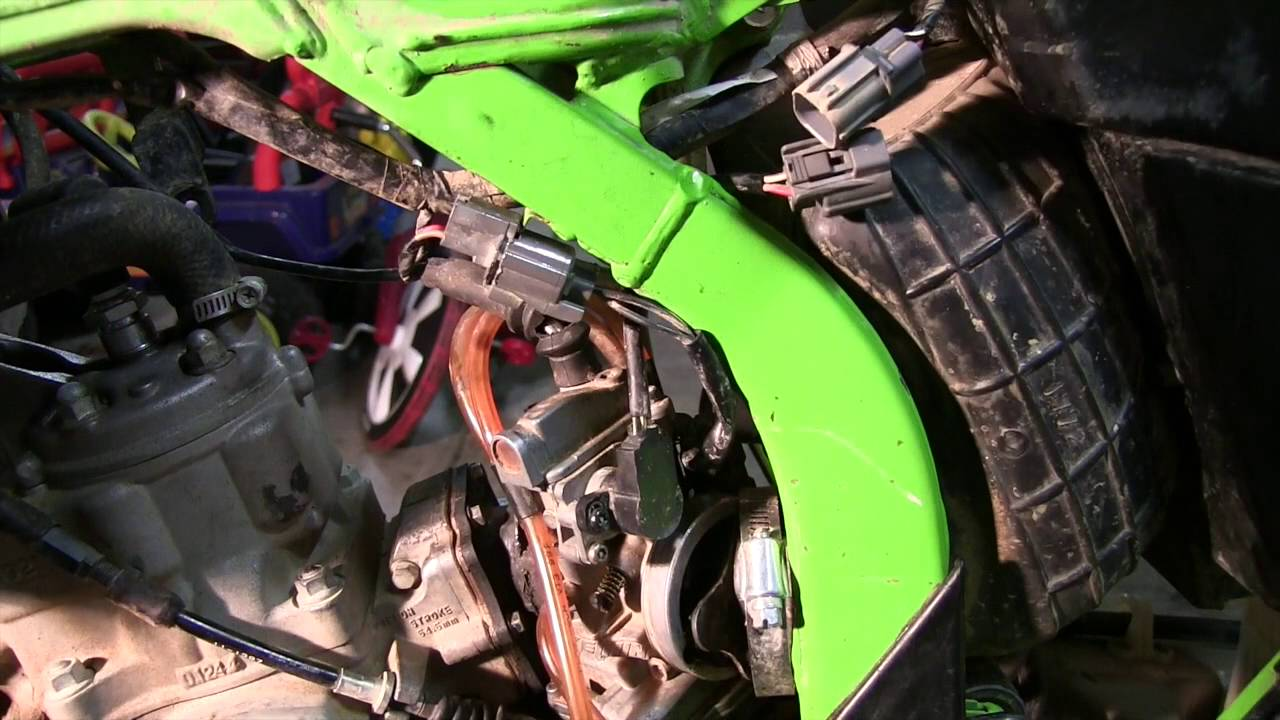 2000 kx125 part 4 removing carb, intake boot \u0026 reed cage youtubeKx 125 Wiring Harness #9