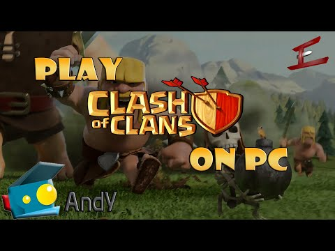 How to play Clash of Clans on the PC | How to install Andyroid | CoC on the PC with Emulated Android