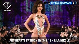 Art Hearts Fashion NY S/S 19 - Lila Nikole | FashionTV | FTV