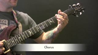 Radiohead My Iron Lung Guitar Lesson - How To Play My Iron Lung On Guitar