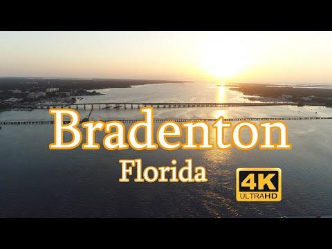 Aerial Tour Of Bradenton, FL In 4k