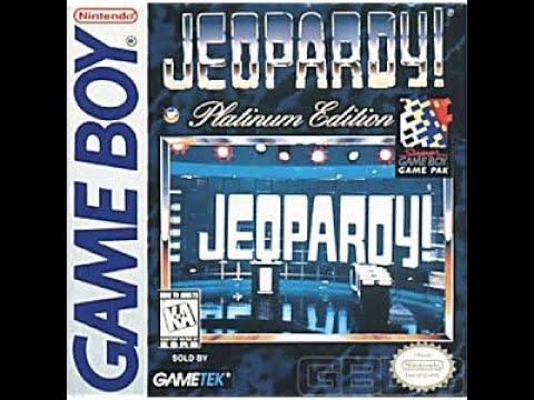Game Boy Jeopardy! Platinum Edition ORIGINAL RUN Game #4