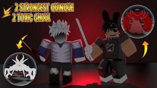 Ro Ghoul   2 Strongest Quinque vs 2 Toxic Ghoul   SSS Owl,Narukami vs EtoK3,TarataK1   TOXIC WAR
