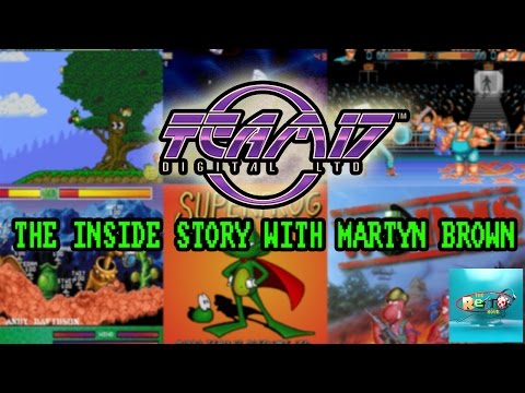 Team 17 The Inside Story with Martyn Brown - The Retro Hour EP52