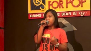 "Precious Danes J. Bingil ""Let It Go"" Rehearsal For Recital @ Center For Pop Music Philippines"