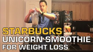 The Best Unicorn Starbucks Weight Loss Smoothie for Women Over 40, 50 and 60