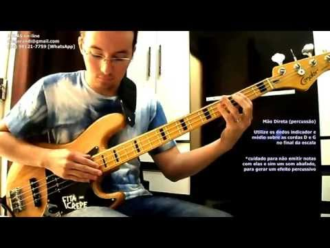 Bass Tapping #02 (Percussive Lesson)