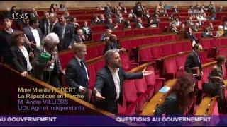 La ministre de la Justice a réussi à faire partir la gauche et la droite de l'Assemblée