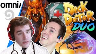 Duo Deck Doctor w/ Firebat & Control: Wild Burn Mage