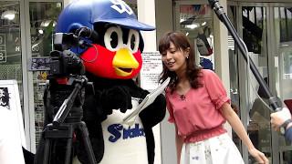 めざましテレビ つば九郎くんの漫画発売を記念 して行われたお渡し会に...