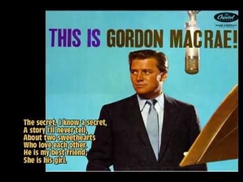 The Secret (1958) - Gordon MacRae