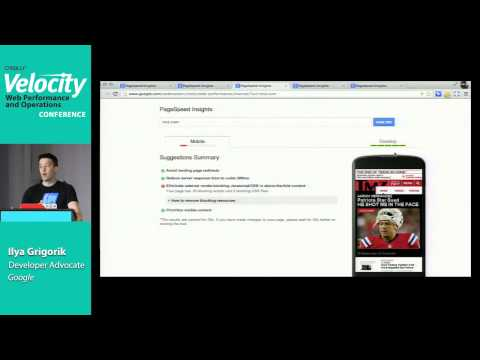 Optimizing the Critical Rendering Path for Instant Mobile Websites - Velocity SC - 2013
