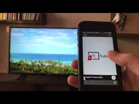 Easiest way to watch Twitch on Smart TV using only your phone