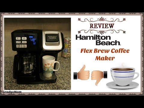 Review: Hamilton Beach Flex Brew Coffee Maker | Pros & Cons