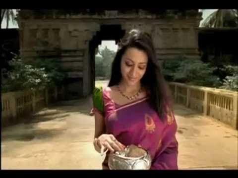 Trisha In Saree In Pothys Ad