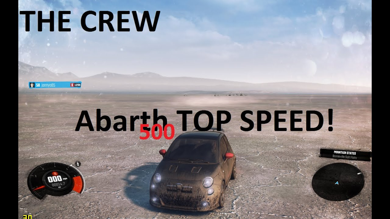 the crew fiat abarth 500 top speed 1299 street spec car. Black Bedroom Furniture Sets. Home Design Ideas