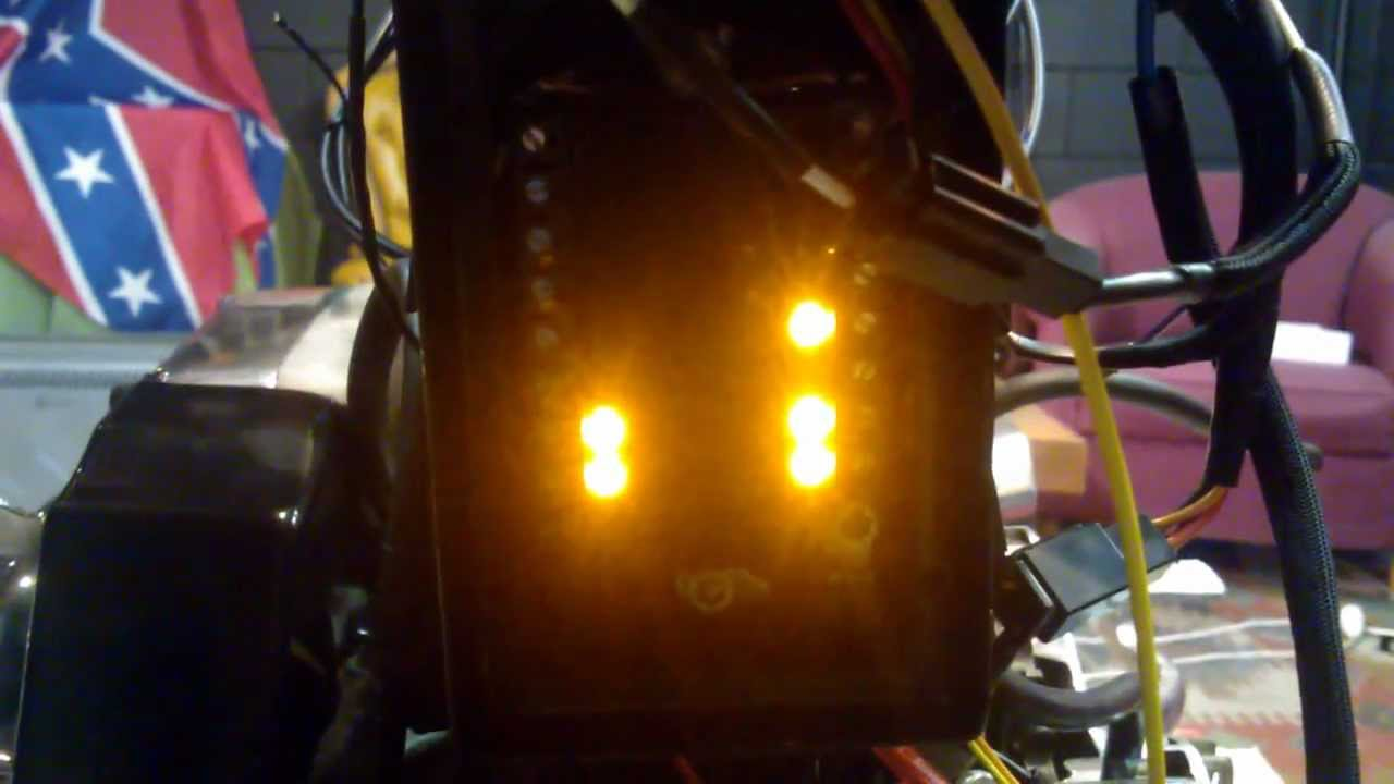 Custom Harley Davidson Wiring With M Unit Youtube Kickstart Shovelhead Chopper Diagram