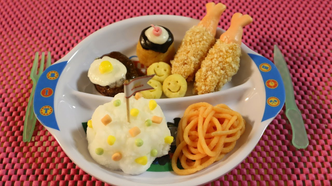 "Kracie Popin'cookin' Arrange ""okosama Lunch"" おこさまランチ 知育菓子"