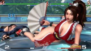 How to escape from Mai's Climax while jumping