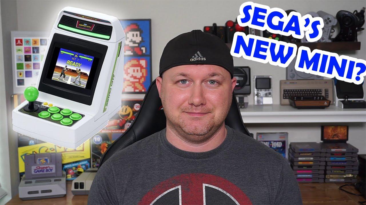 The Sega Astro City Mini! Sega's new MINI Arcade!